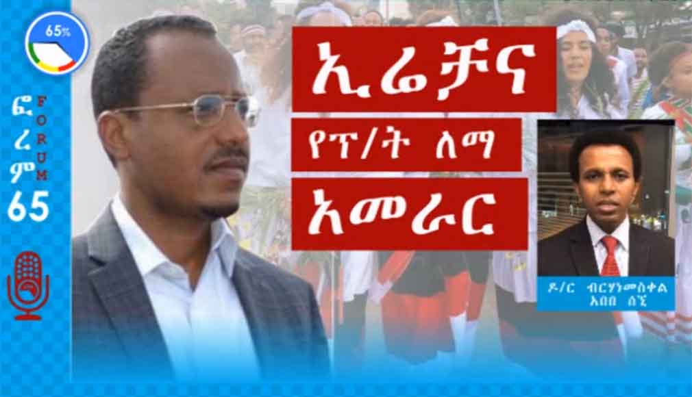 Dr. Berhanemeskel Abebe on Forum 65