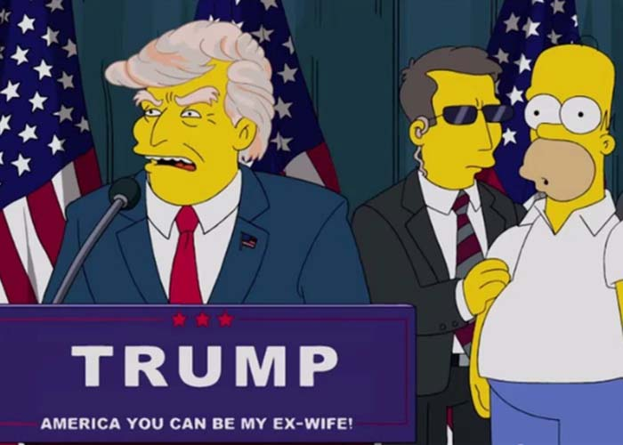 Screen shot of The Simpsons