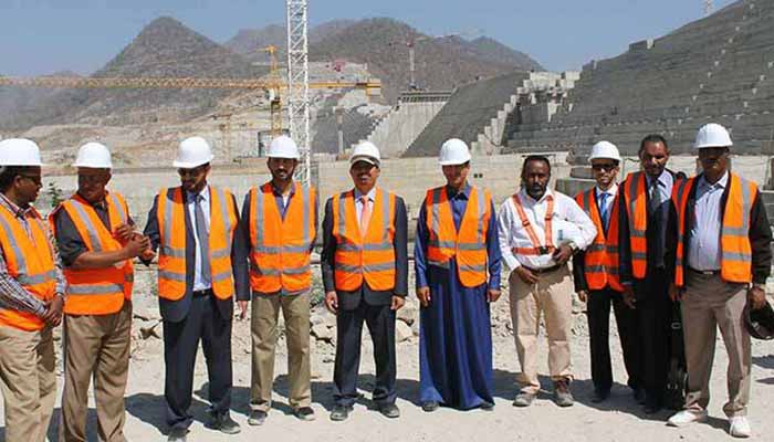 Saudi officials visited Ethiopian Dam