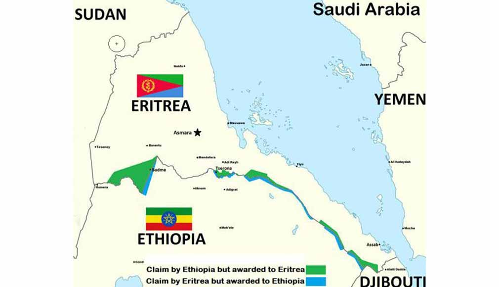 Eritrea - Ethiopia Boundary Commission's demarcation.
