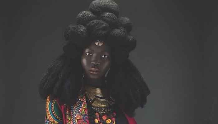 South Sudanese model, Nyakim Gatwech