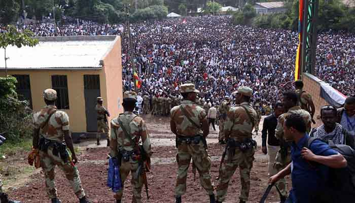 Ethiopian Armed forces on Irreecha Massacre