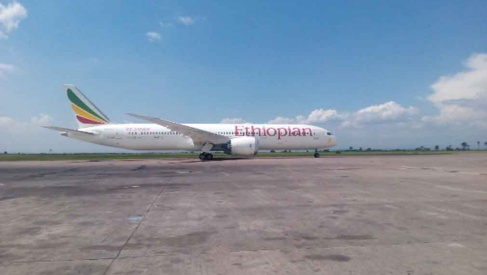 Ethiopian B978-9 Dreamliner