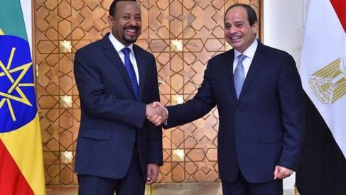 Abiy Ahmed & Abdel Fatah Al-Sisi