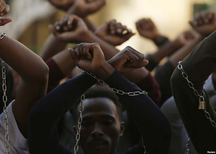 Oromo protesters (Photo: Reuters)