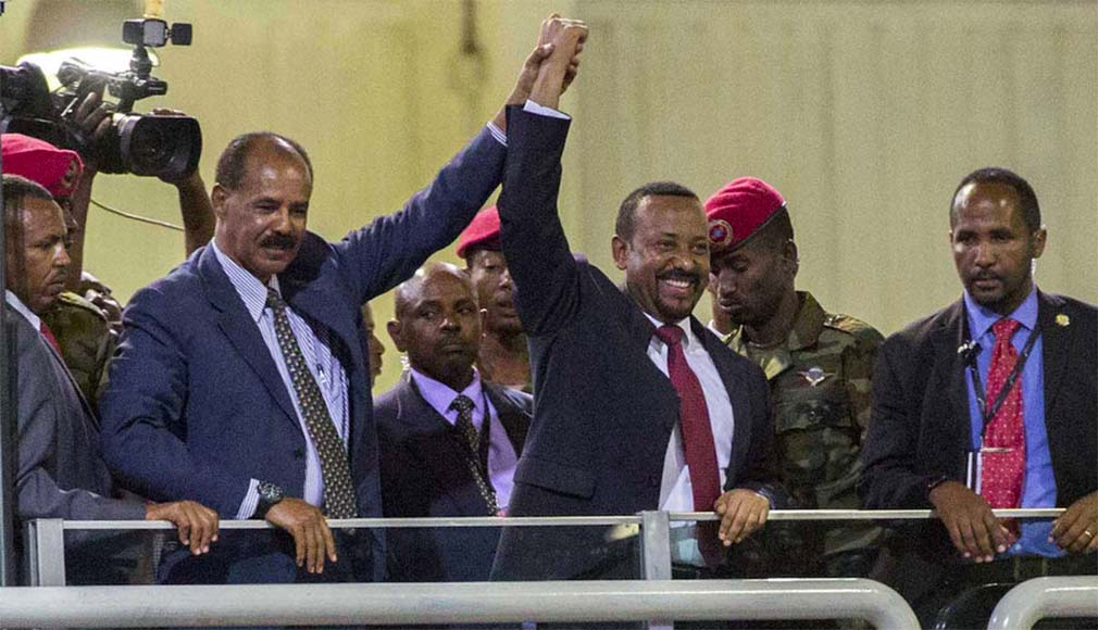 PM Abiy Ahmed and President Isaias Afwerki