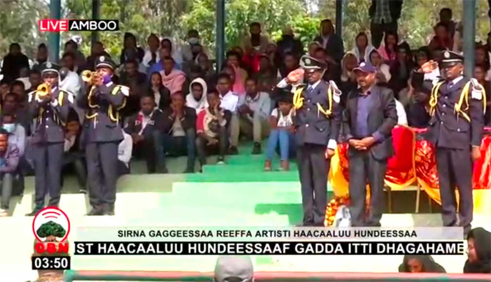 Hachalu Hundessa's funeral, 2nd July 2020