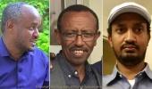 Daniel Berhane, Prof Hizkiel Gebissa and Alula Solomon