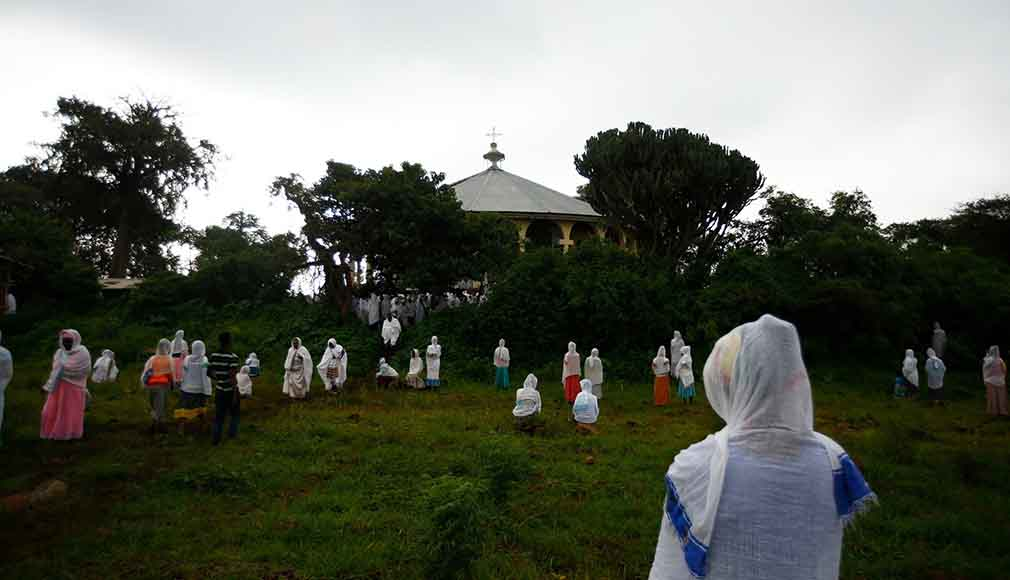The priest of this village church in Fendika, Ethiopia.