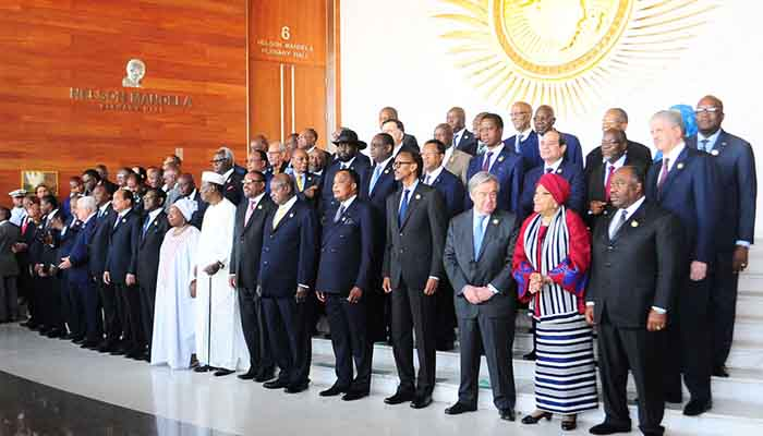 African leaders, Addis Ababa, Jan 2017