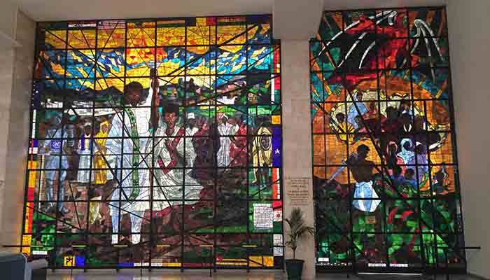 Stained Glass Window, Africa Hall, Addis Ababa