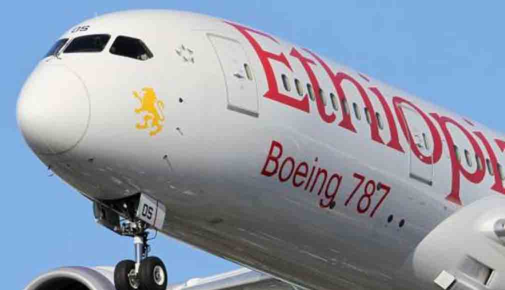 Ethiopian Airlines Is First To Operate The Boeing 787-9 Dreamliner.
