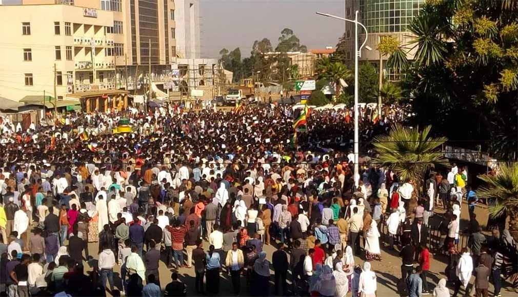 Protest in Amhara region over student abductions