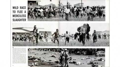 The Sharpeville (South Africa) Massacr