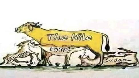 Ethiopia, Egypt and Sudan on Nile